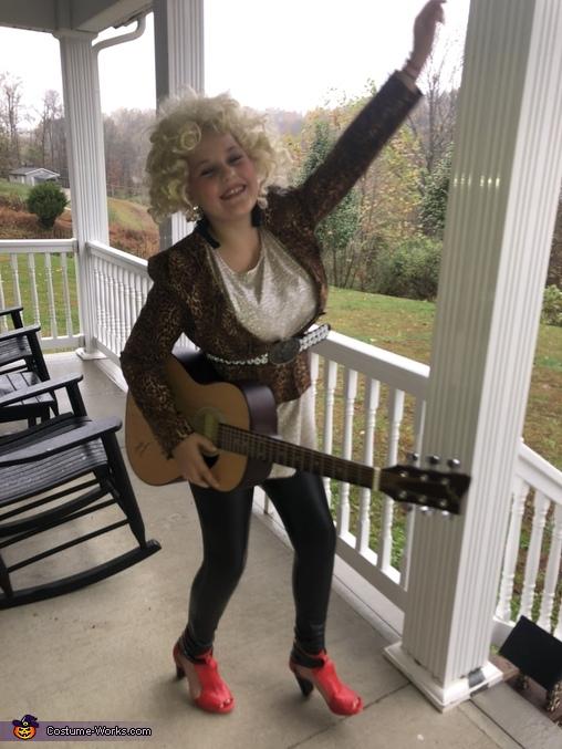 Dolly Parton Homemade Costume
