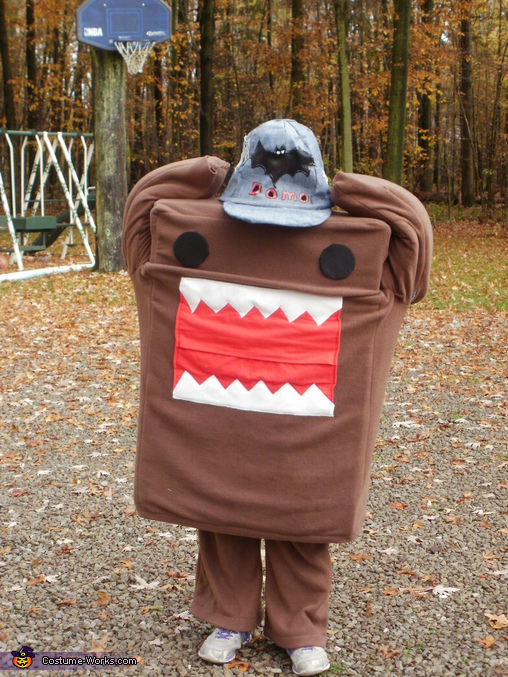 Domo Stick Up, Domo Costume