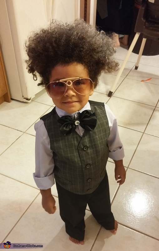 Don King Baby Costume