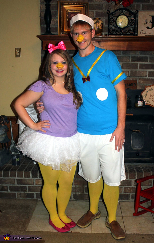 Donald and Daisy Duck Couples Costume