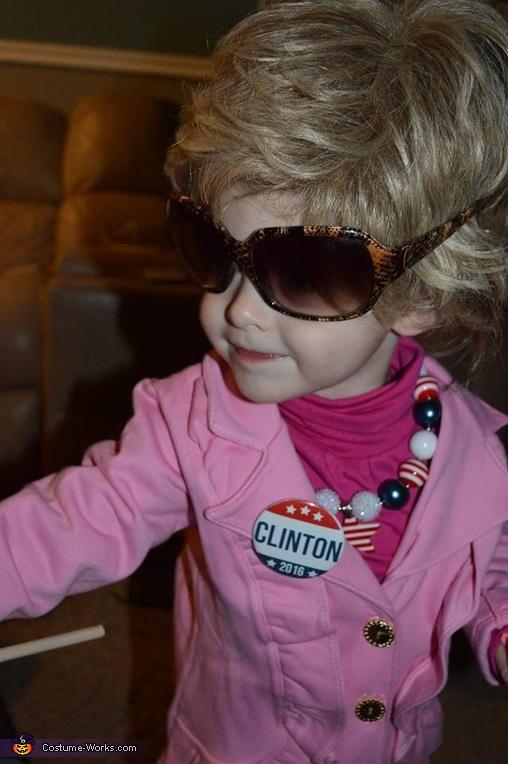 Donald and Hillary Homemade Costume