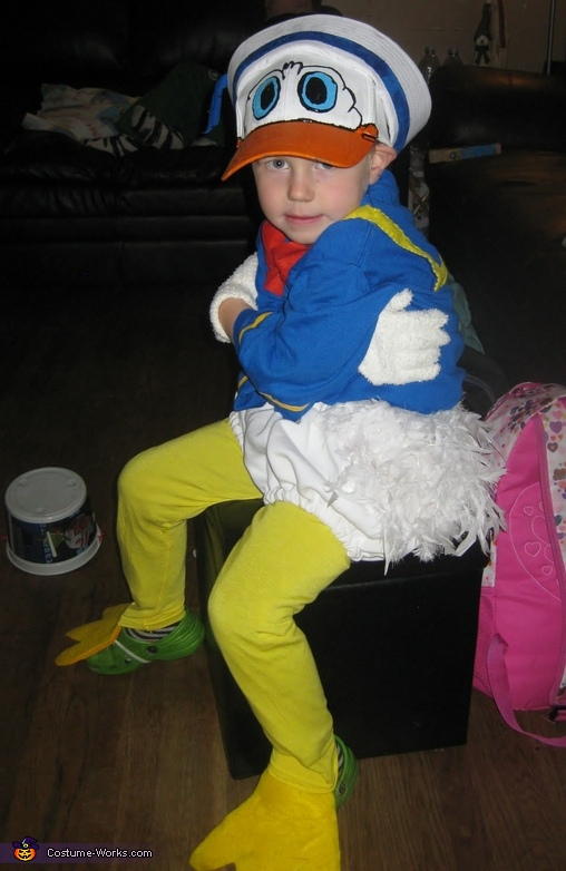 Donald Duck Costume  sc 1 st  Costume Works & Homemade Donald Duck Costume