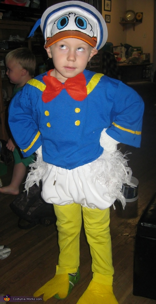 Donald Duck Homemade Costume
