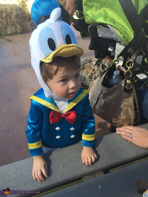 Cutest Donald Duck Ever!!, Donald Duck Baby Costume