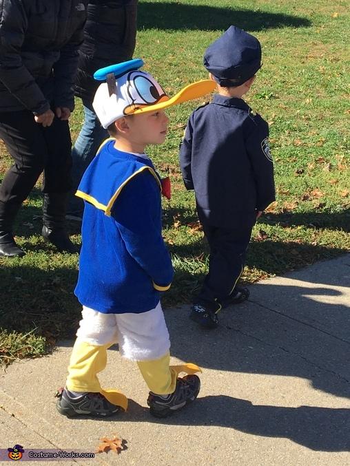 Donald Duck, Donald Duck Costume