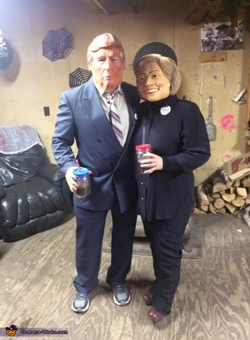 Donald & Hilary Costume