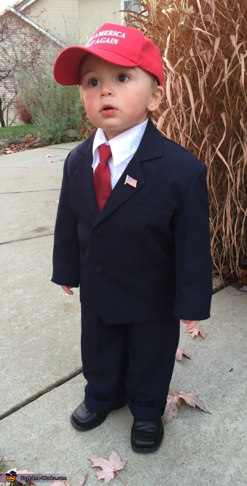 Donald Trump Baby Boy's Costume