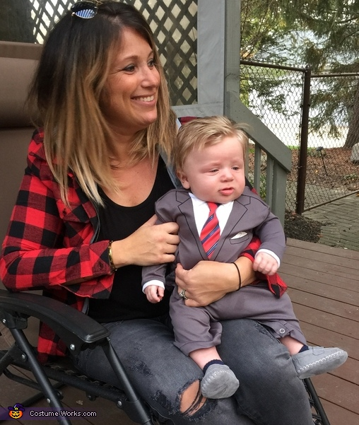Donald Trump Baby Costume