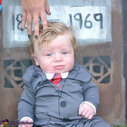 Donald Trump Baby Homemade Costume