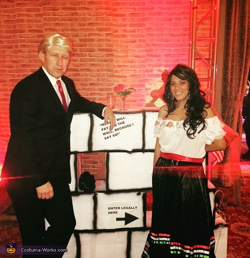 Donald Trump, the Wall and the Mexican Costume