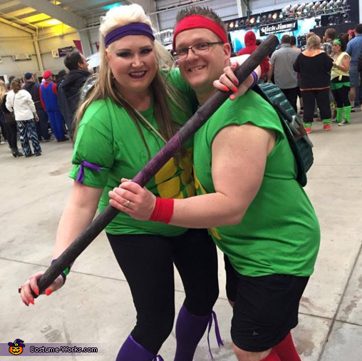 Donatello and Raphael Costume
