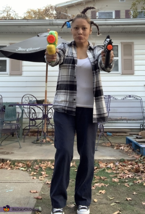 Don't Be a Menace Homemade Costume