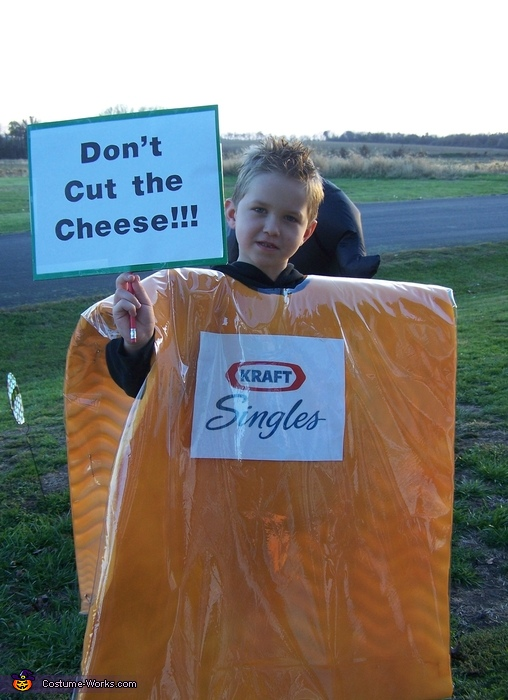 Don T Cut The Cheese Diy Halloween Costume