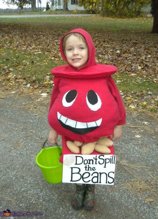 Don't Spill the Beans Costume