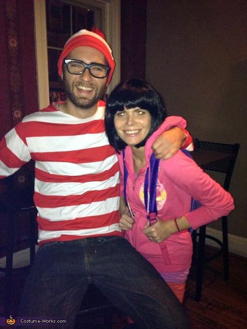 Dora found Waldo Homemade Couple's Costume