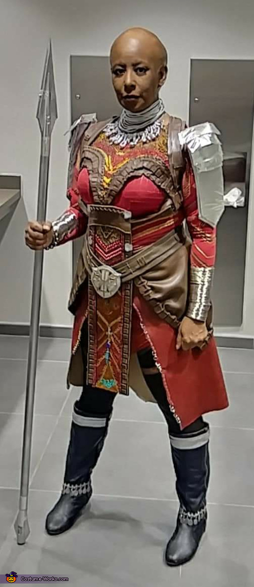 Ready to guard King T'Challa!, Dora Milaje Costume