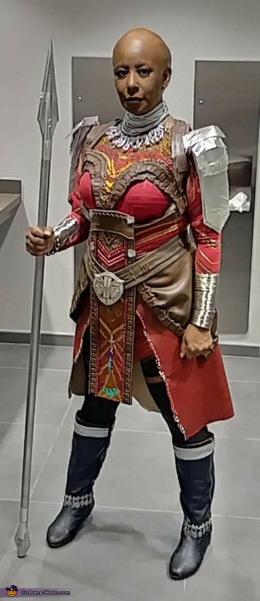 Ready to guard King T'Challa!, Dora Milaje Costume