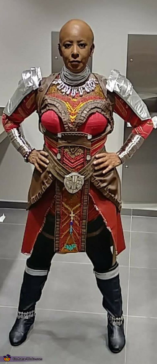 My handmade Dora Milaje costume!, Dora Milaje Costume