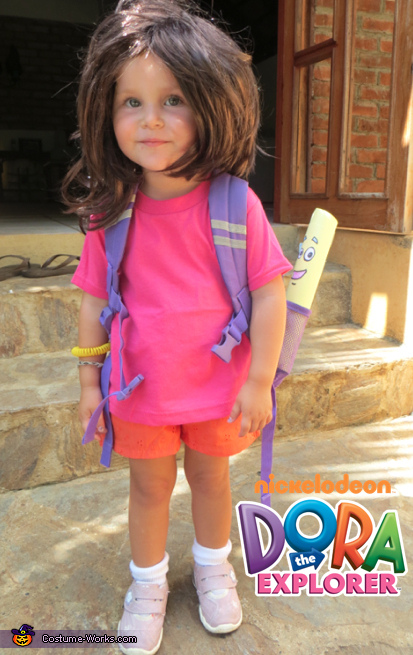 Alidia the Explorer, Dora the Explorer Costume