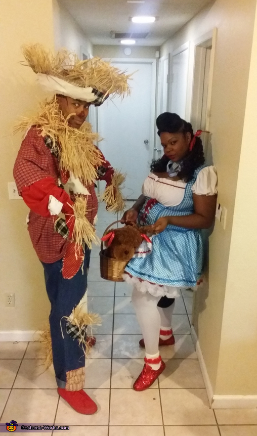 Dorothy and Scarecrow Costume