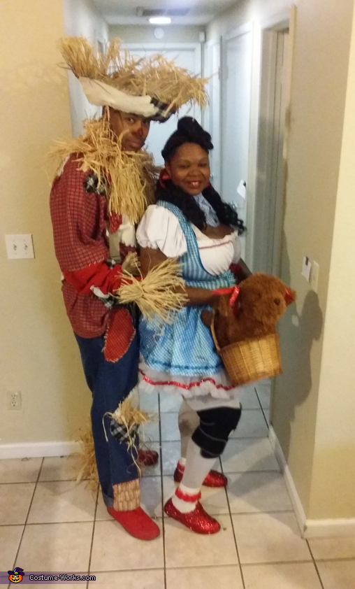 Scarecrow and Dorothy, Dorothy and Scarecrow Costume