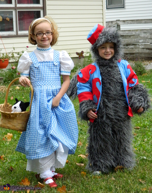 Dorothy and The Flying Monkey Costume