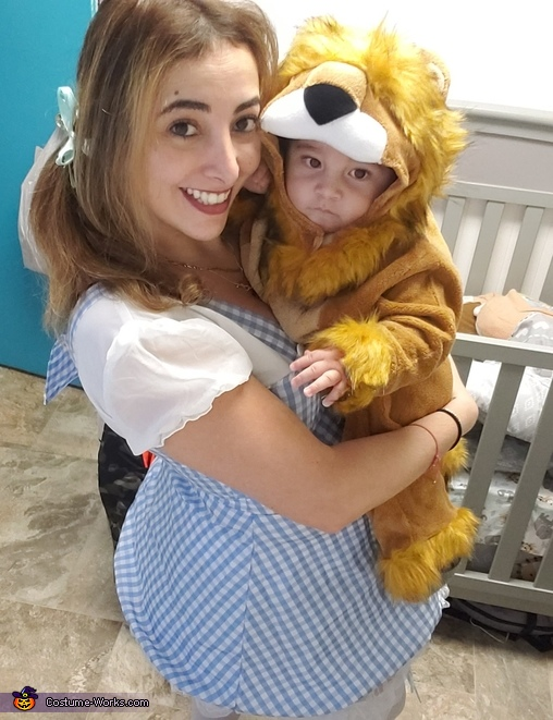 Dorothy and the Lion Costume