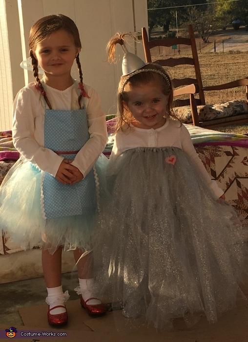 Dorothy and Tin Girl Costume