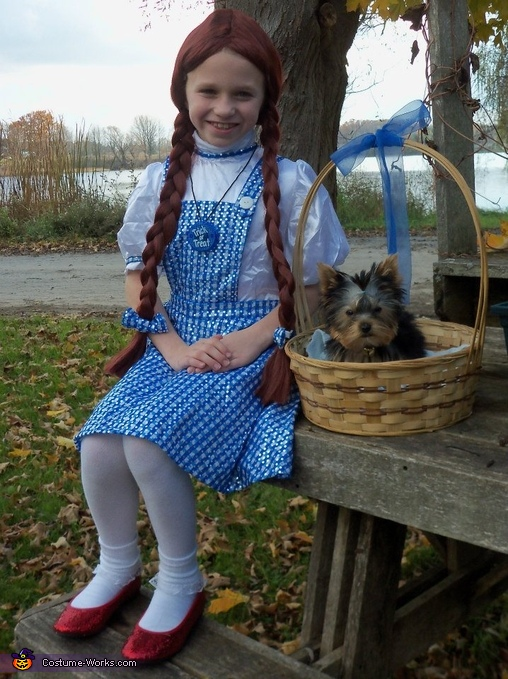 Dorothy & Toto Just Totally Adorable!, Dorothy and Toto Halloween Costume