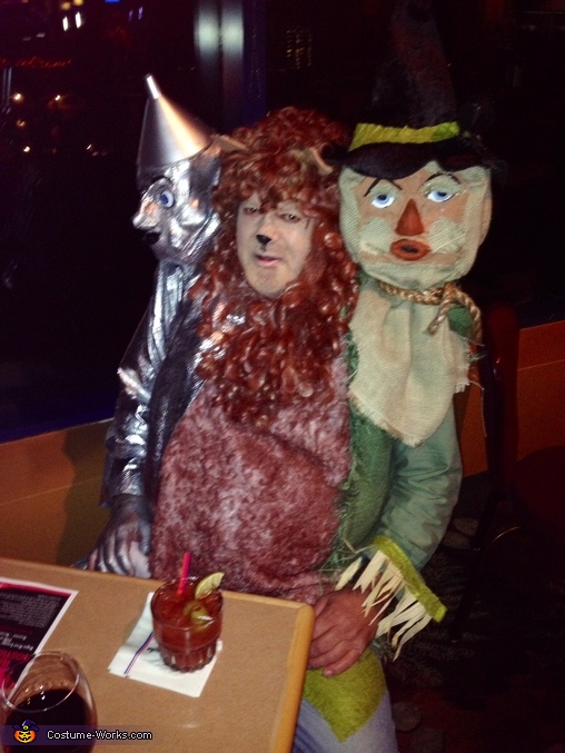 Dorothy & Friends Homemade Costume