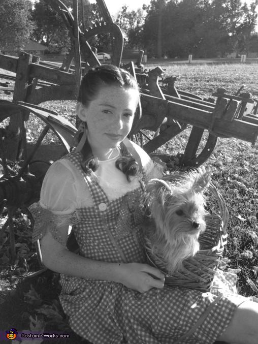 Dorothy & Toto Homemade Costume