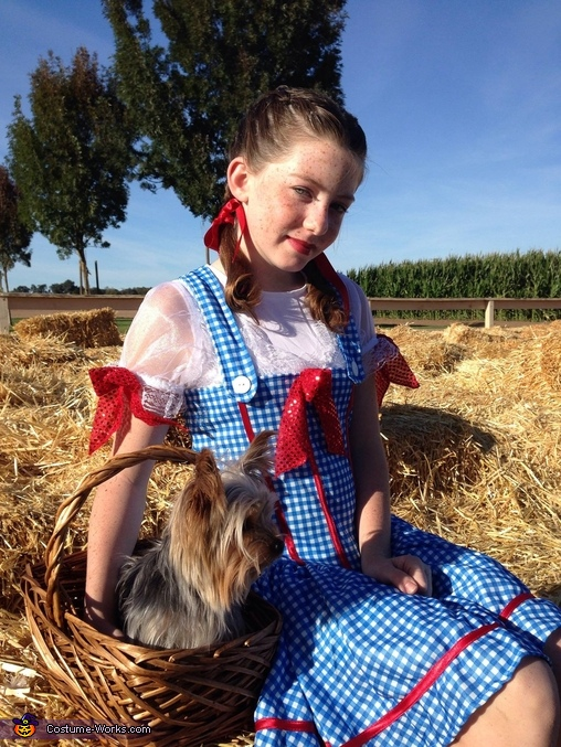 Dorothy & Toto Homemade Costume