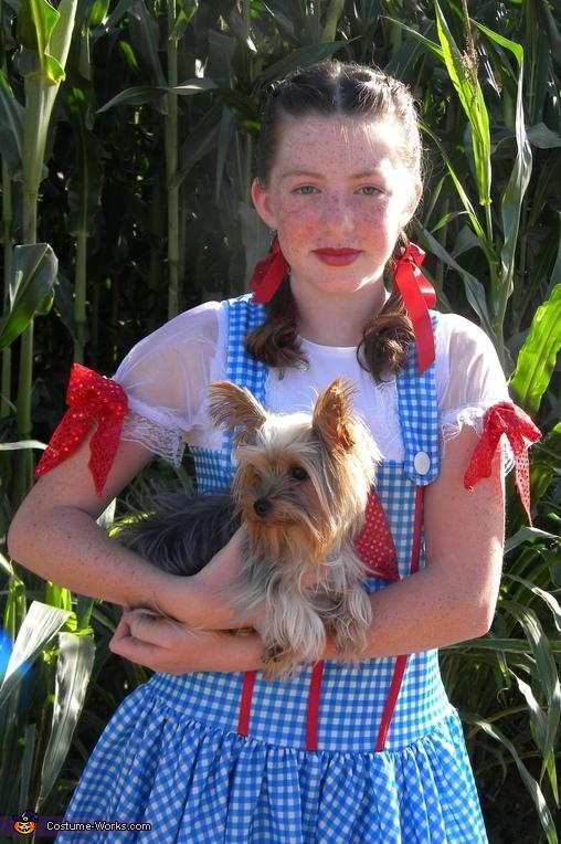 Girl's Dorothy & Toto Costume