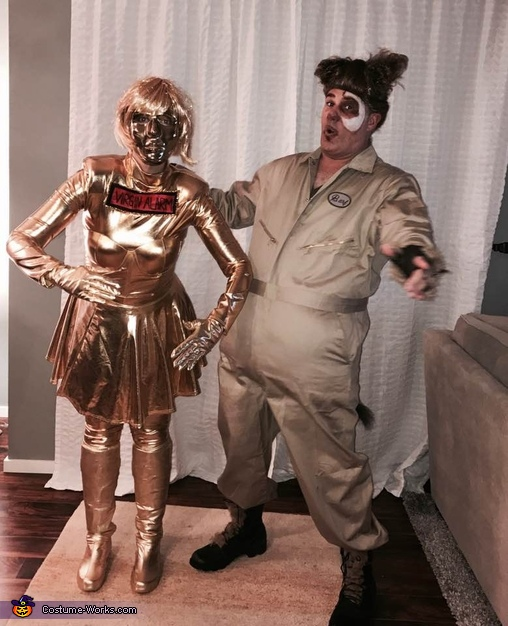 Dot Matrix And Barf From Spaceballs Costume