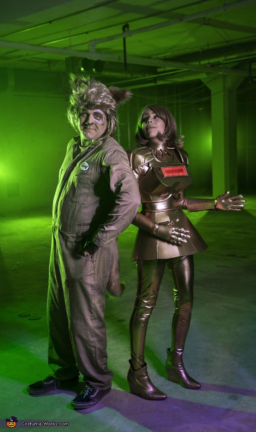 Dot & Barf from Spaceballs Costume