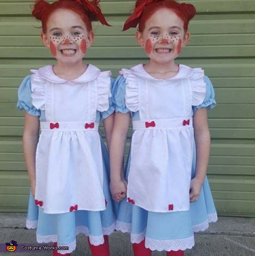 Double Raggedy Anns Costume