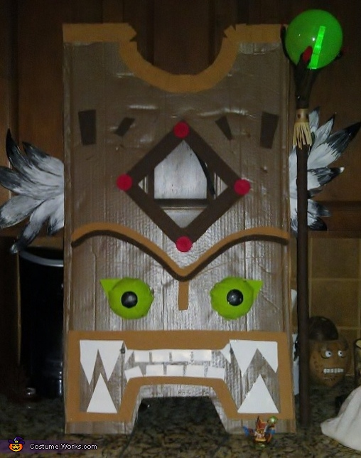 Finished Product, Double Trouble Skylander Costume