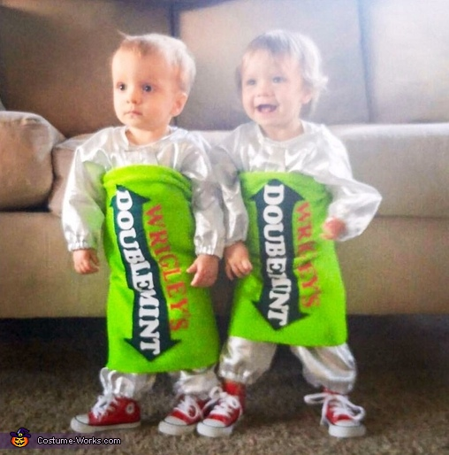 Double your pleasure, double your fun! Twin Costume
