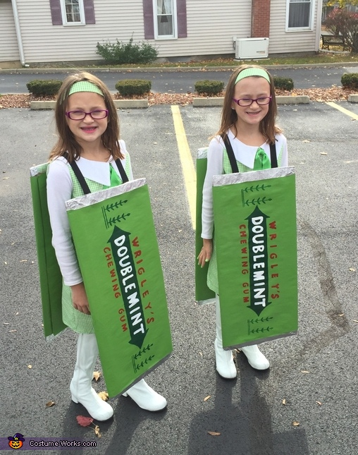 Doublemint Twins Homemade Costume