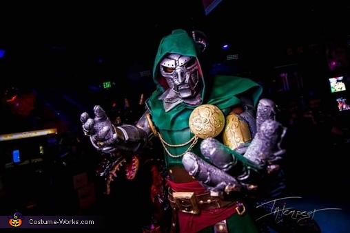 Dr. Doom Homemade Costume