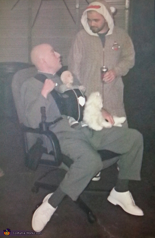 Dr. Evil Homemade Costume