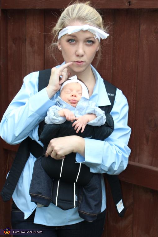 Dr. Evil and Mini Me Costume