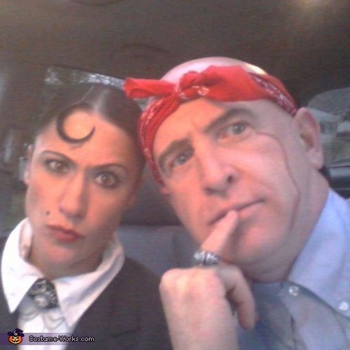 Dr Evil and Mini Me Homemade Costume