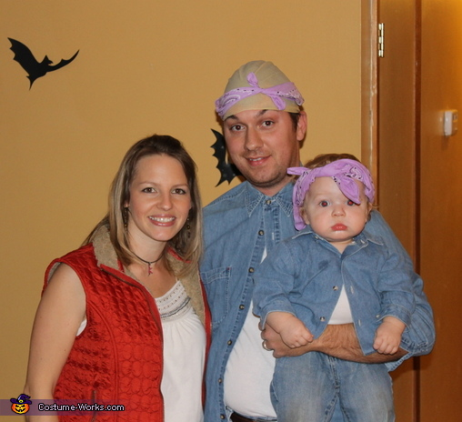 Dr. Evil, Mini-Me, Felicity Shagwell Austin Powers Family Costume