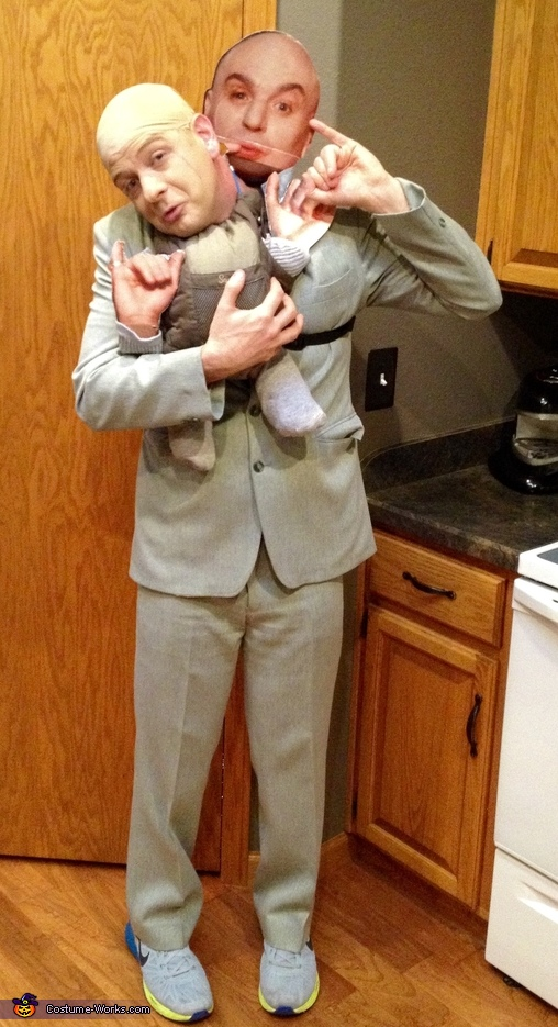 Dr. Evil & Mini Me Costume