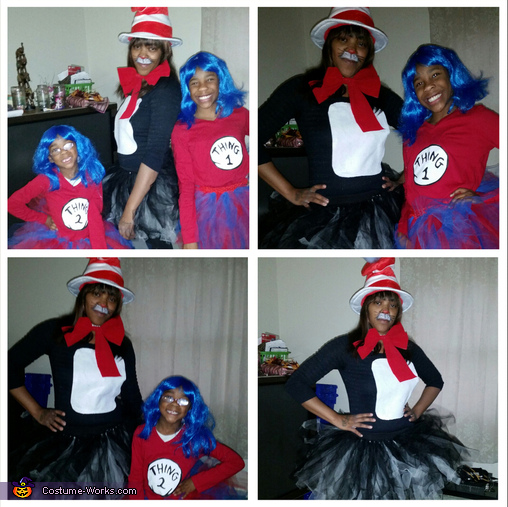 Dr. Seuss Cat in the Hat Family Costume