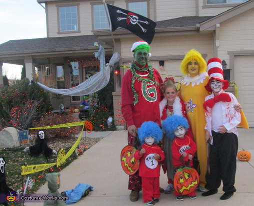 What Would Dr. Seuss Think?, Dr. Seuss Characters Family Costume
