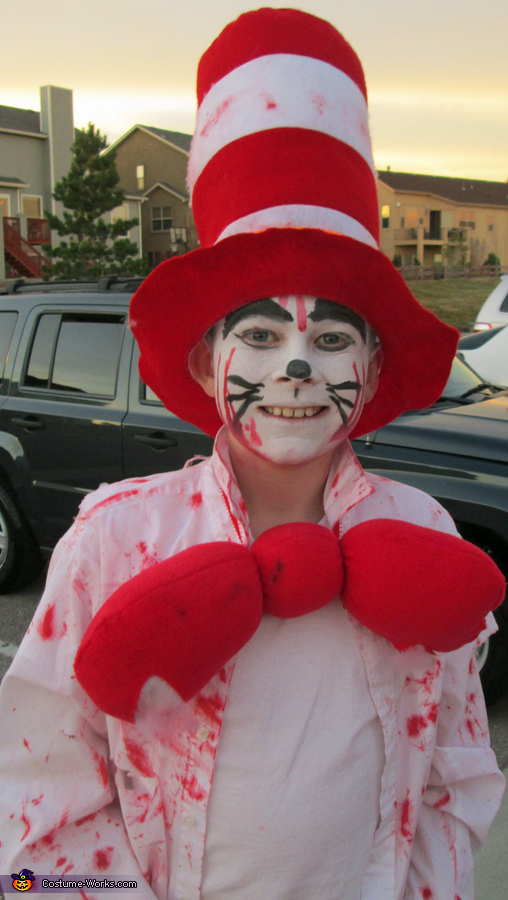 Our Scary Cat in the Hat!, Dr. Seuss Characters Family Costume