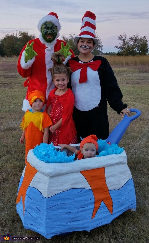Dr. Seuss Characters Family Costumes