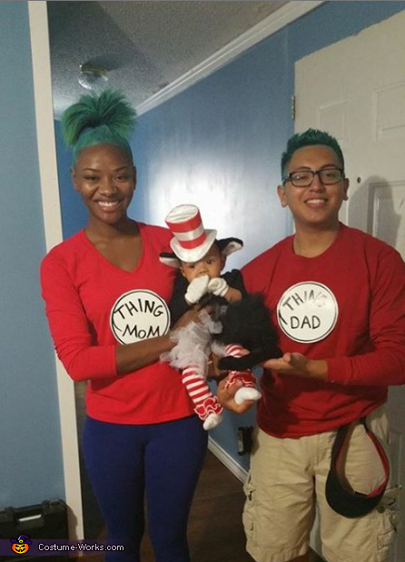 Dr. Seuss Family Costume